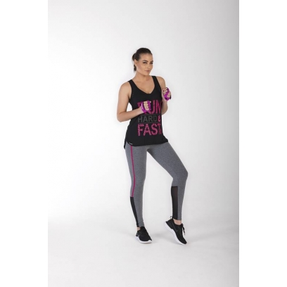LEGGING RED CIRCLE DEBRUM